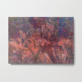 Carnelian Canyon Metal Print