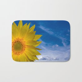 Concept Sunflower Greetingcards Bath Mat