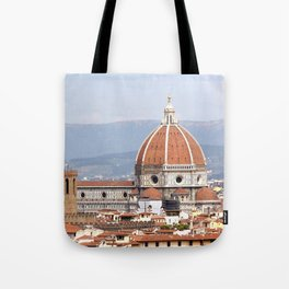 Florence cathedral dome photography Tote Bag