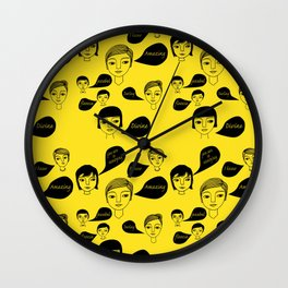 Insult me anyway you like....... Wall Clock