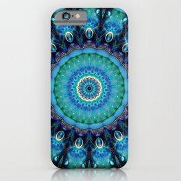 Jewel Of The Ocean Mandala iPhone Case