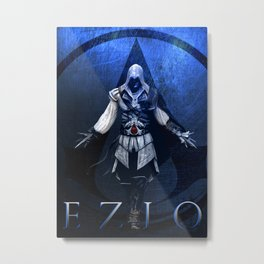 Assassin's Creed Ezio Poster Metal Print