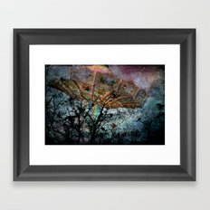A Strange Day Framed Art Print