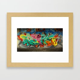 AS ONE GRAF PIECE 2 Framed Art Print