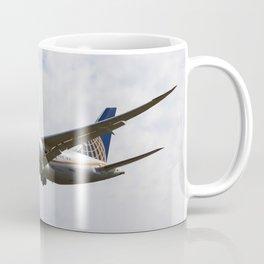 United Airlines Boeing 787 Coffee Mug