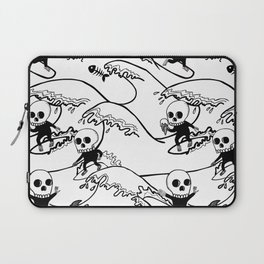surferSkeleton Laptop Sleeve