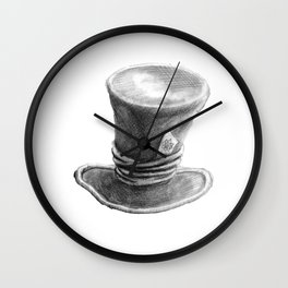 Me Mad Hat Wall Clock
