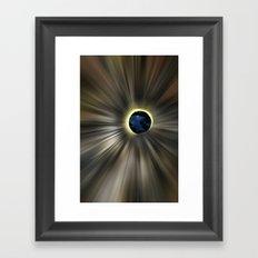 OWL Eye Framed Art Print