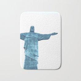 Christ Redeemer Rio de Janeiro - Art Bath Mat