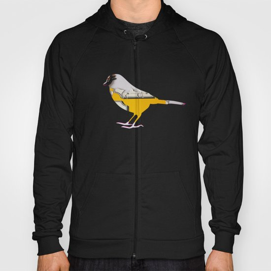 Tea Time Bird Hoody