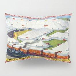 Vintage poster - Circus Pillow Sham