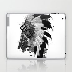 black and white headdress Laptop & iPad Skin