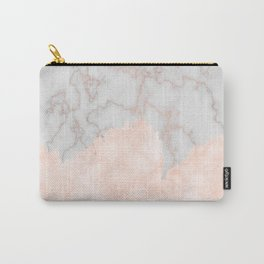 Rosette Marble Carry-All Pouch