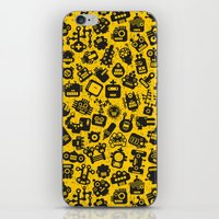 talking heads iPhone & iPod Skins featuring Heads. by panova