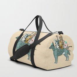 Dogs, cats, birds Duffle Bag