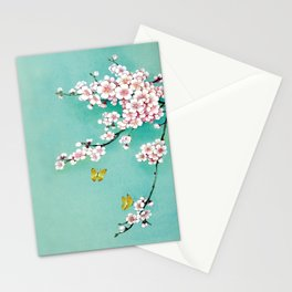 Dreamy cherry blossom Stationery Cards
