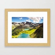 Move Mountains Framed Art Print