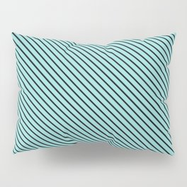 Limpet Shell and Black Stripe Pillow Sham