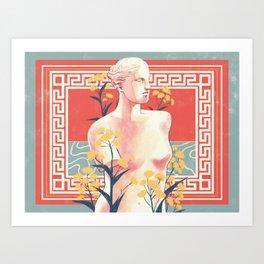 Silphium Art Print