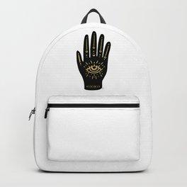 Evil Eye Hand Backpack