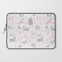 Woodland Forest Animals Laptop Sleeve