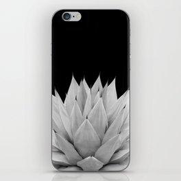 Agave Black & White Summer Night Vibes #1 #tropical #decor #art #society6 iPhone Skin