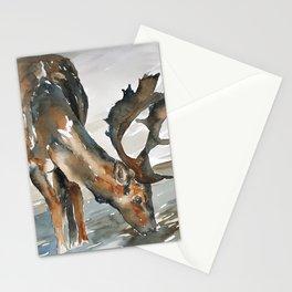 deer#2 Stationery Cards