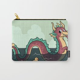 Smiley Serpent Carry-All Pouch