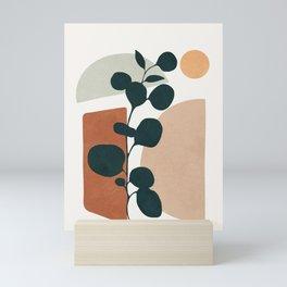 Soft Shapes V Mini Art Print