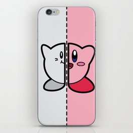 Old & New Kirby iPhone Skin