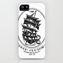 Fheen Ship Tea Cup  iPhone Case