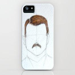 Mustache Man iPhone Case