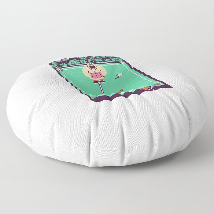 Overworld: Ring Floor Pillow