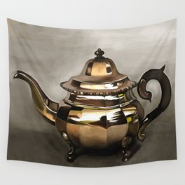 Teapot Wall Tapestry