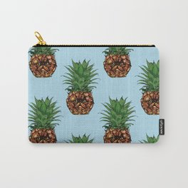 Pineapple Persian Cat Carry-All Pouch