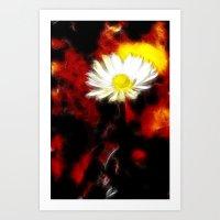 plant Art Prints featuring plant by Lars Tuchel