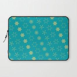 Asterisk-a-thon Blue Laptop Sleeve