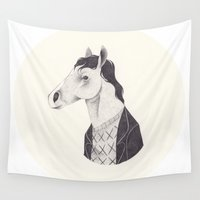 netflix Wall Tapestries featuring BoJack  by yohan sacre