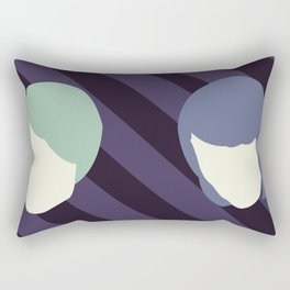Tegan and Sarah Rectangular Pillow