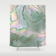 Shell Texture Shower Curtain