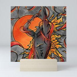 Magma  Mini Art Print