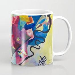 Kandinsky Yellow Red Blue Coffee Mug