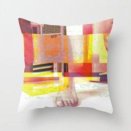 Partialism Throw Pillow