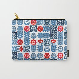 Swedish folk flowers Carry-All Pouch