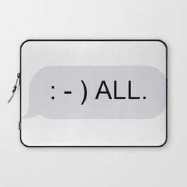 : - ) ALL. Laptop Sleeve