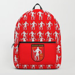 Knights On Red Backpack