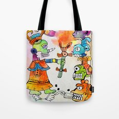 Witchdoctor, inspired by Frida Kahlo Tote Bag