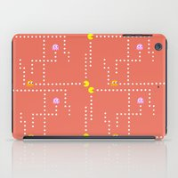 pacman iPad Cases featuring Pacman by CATHERINE DONOHUE