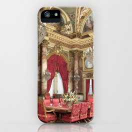 Newport Mansions, Rhode Island - The Breakers Dining Room by Jeanpaul Ferro iPhone Case