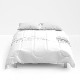 Granada-Madrid Comforters
